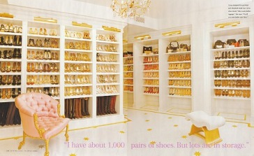 mariah careys shoe closet