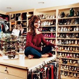 paula abdul shoe closet
