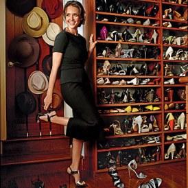 jessica alba shoe closet