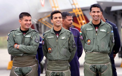 Indian Air Force pilots