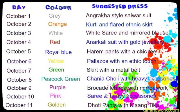 navratri-colours