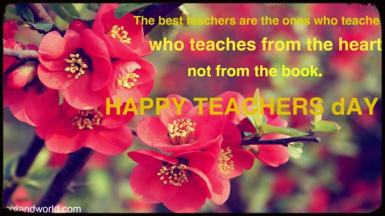 teachers day quote