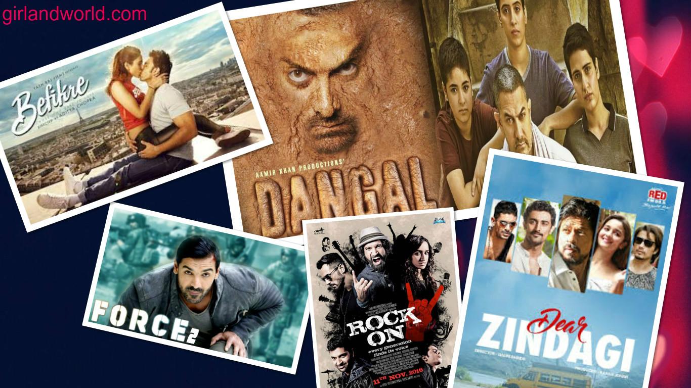 2016 bollywood movies
