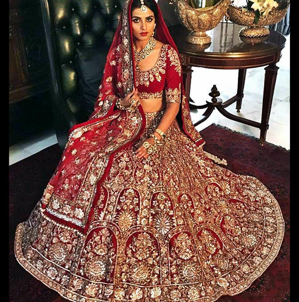 silhouette, trousseau bridal fashion