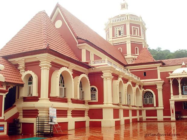 Temple in Goa Zatras