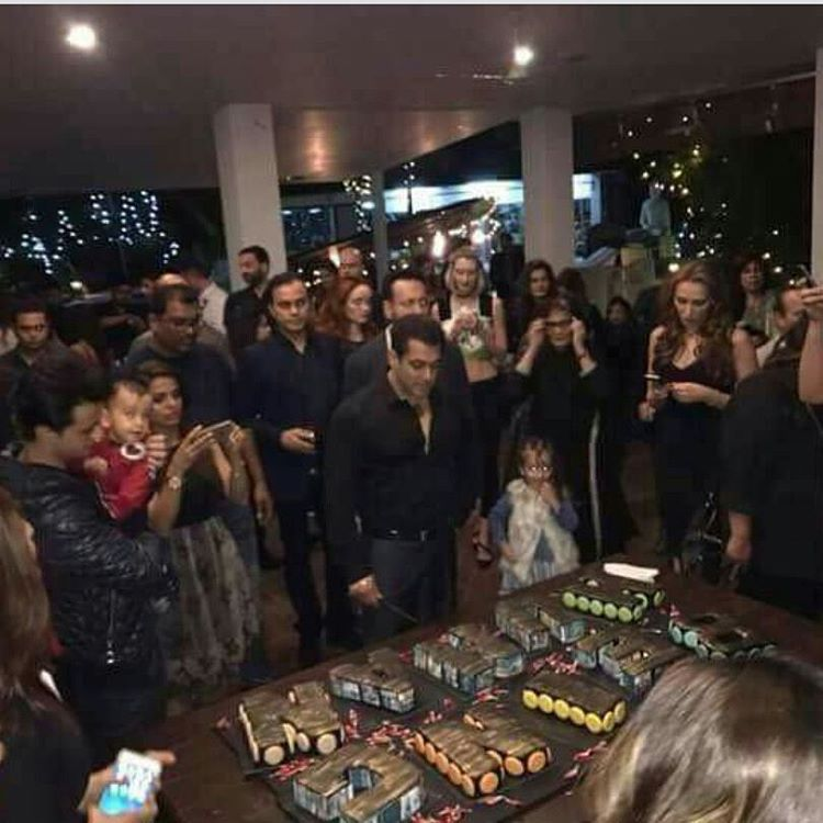 Salman birthday bash 2016