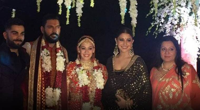 Yuvraj wedding pictures