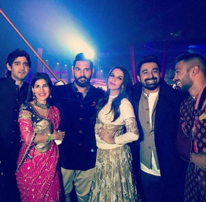 Yuvraj singh wedding pictures
