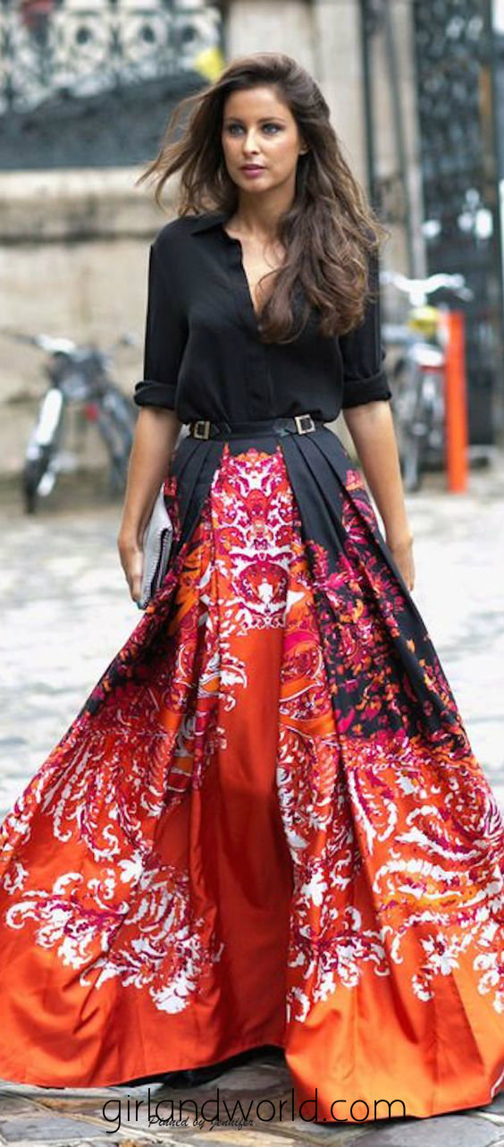 maxi dress in winters