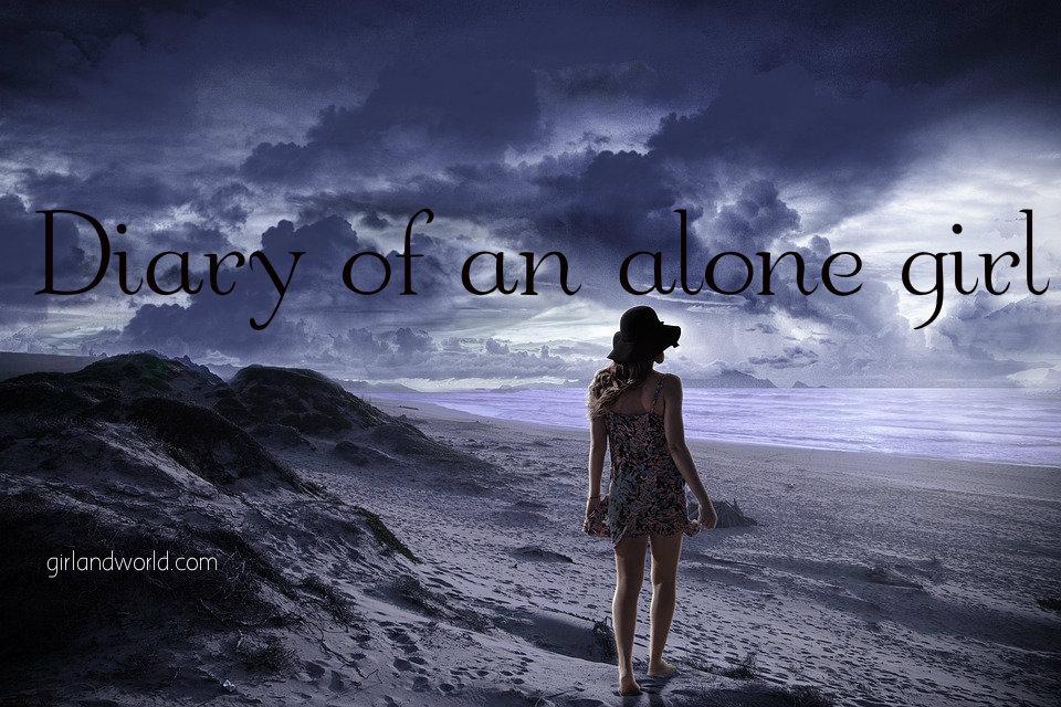 alone girl diary