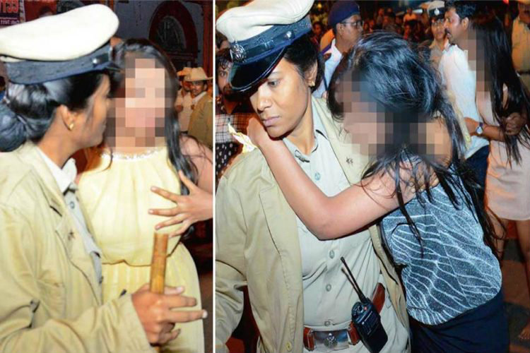 Bengaluru Mass molestation