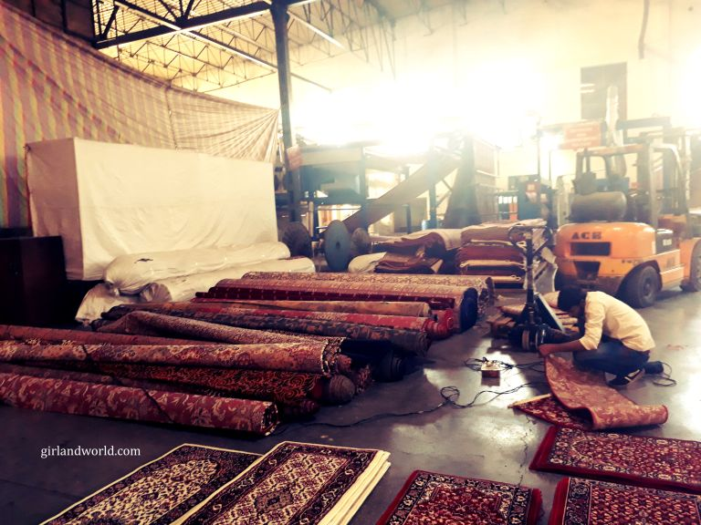 carpet factories in jammu