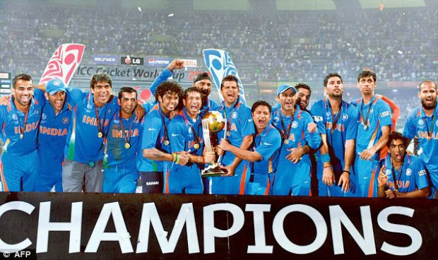 mahendra singh dhoni world cup 2011