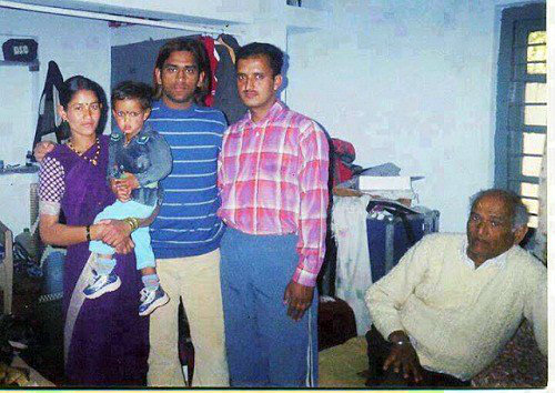 early-days-of-dhoni