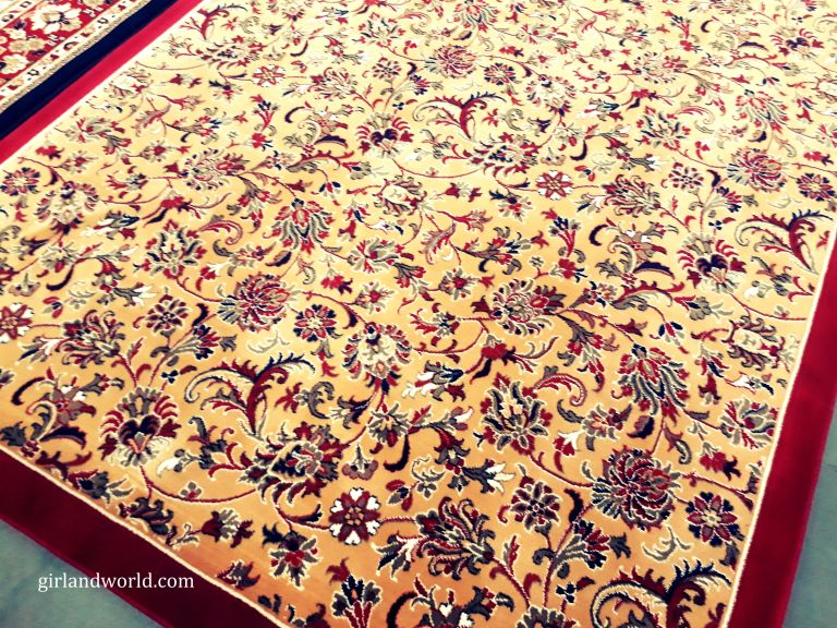 Carpet made in Jammu
