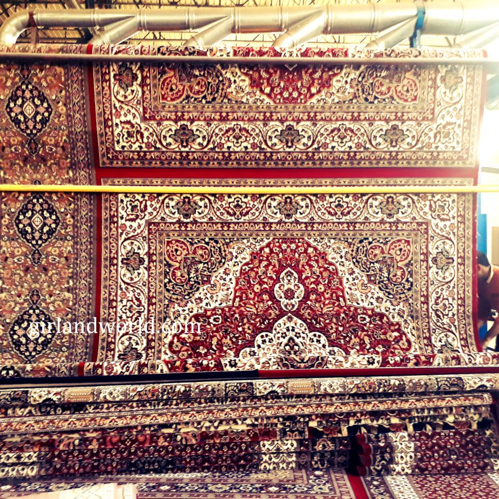 carpet factories in Jammu kashmir