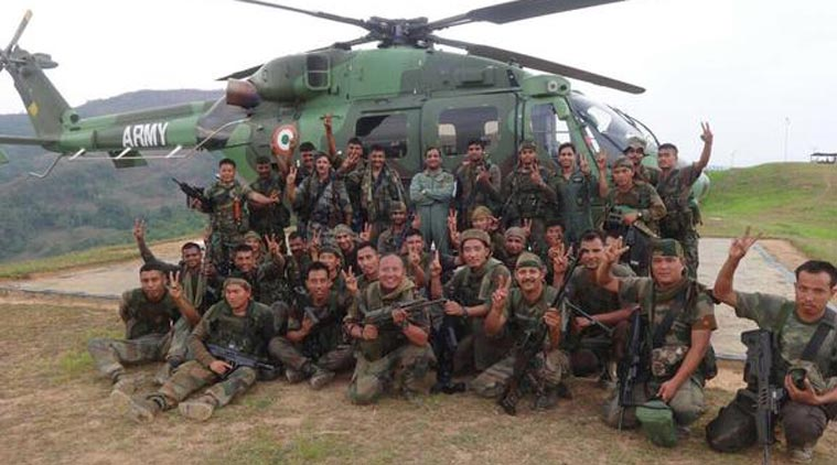 Indian special forces para commando indian counter insurgency operation in myanmar
