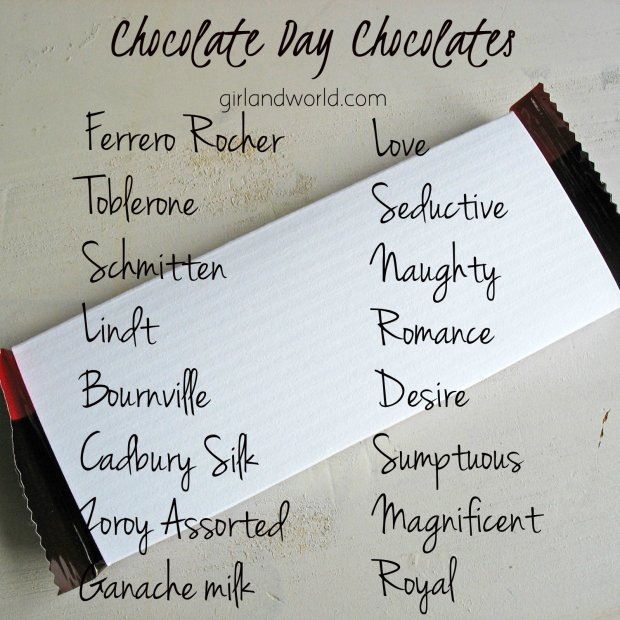 Chocolate Day 2017 celebration schedule date day