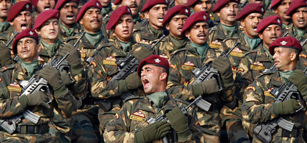 Indian special forces para commandos