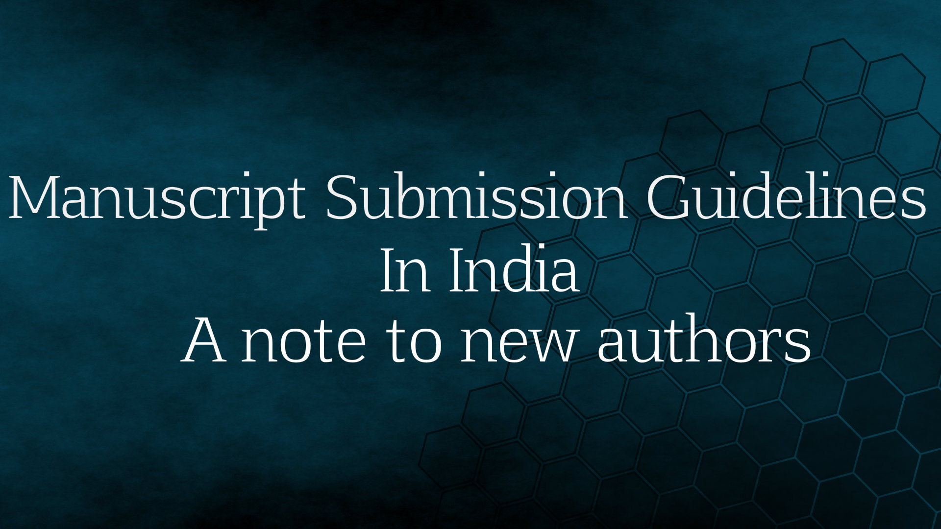 how to submit manuscript to book publishing
