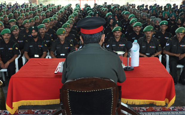 Army jawan as helper, sahayak,batman or buddy
