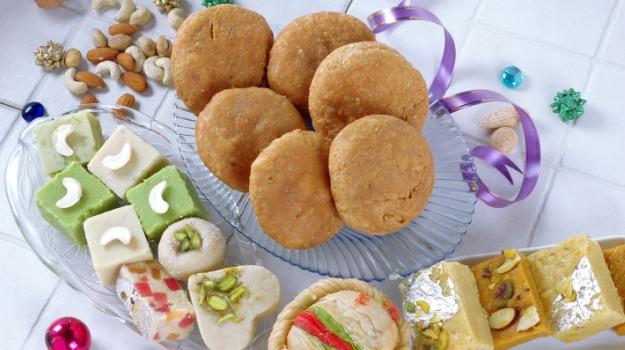 Bihari Holi food