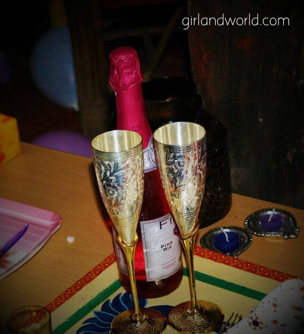 wedding anniversary ideas, champange, HD pictures, anniversary celebration idea, party swapnil pandey husband