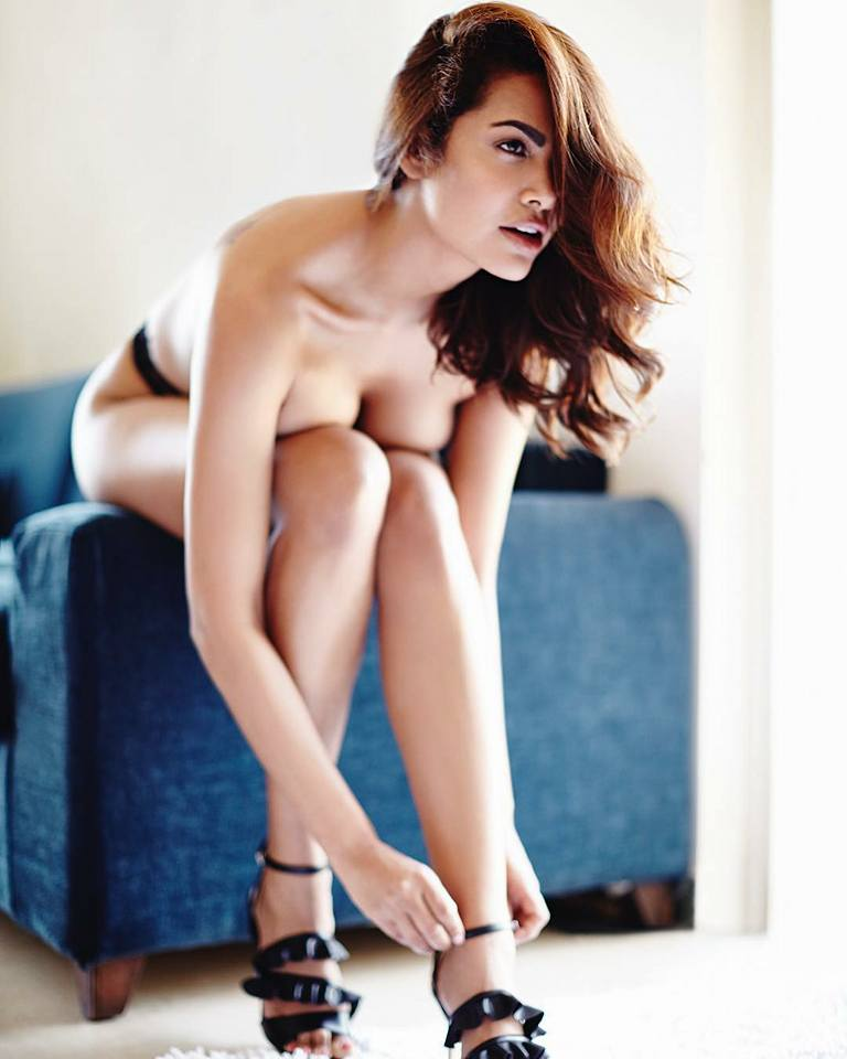 Esha Gupta provocative pictures nude pictures hot photoshoot hotness boobs showing bottomless photoshoots Bollywood heroine actress nude pictures woman nude pictures sexy image shameless woman trolls