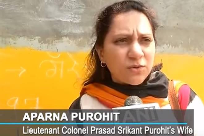 panchkul, haryana punjab baba ram rahim malegaon blast colonel purohit violent protests riots curfew baba ram rahim verdict wife of colonel purohit