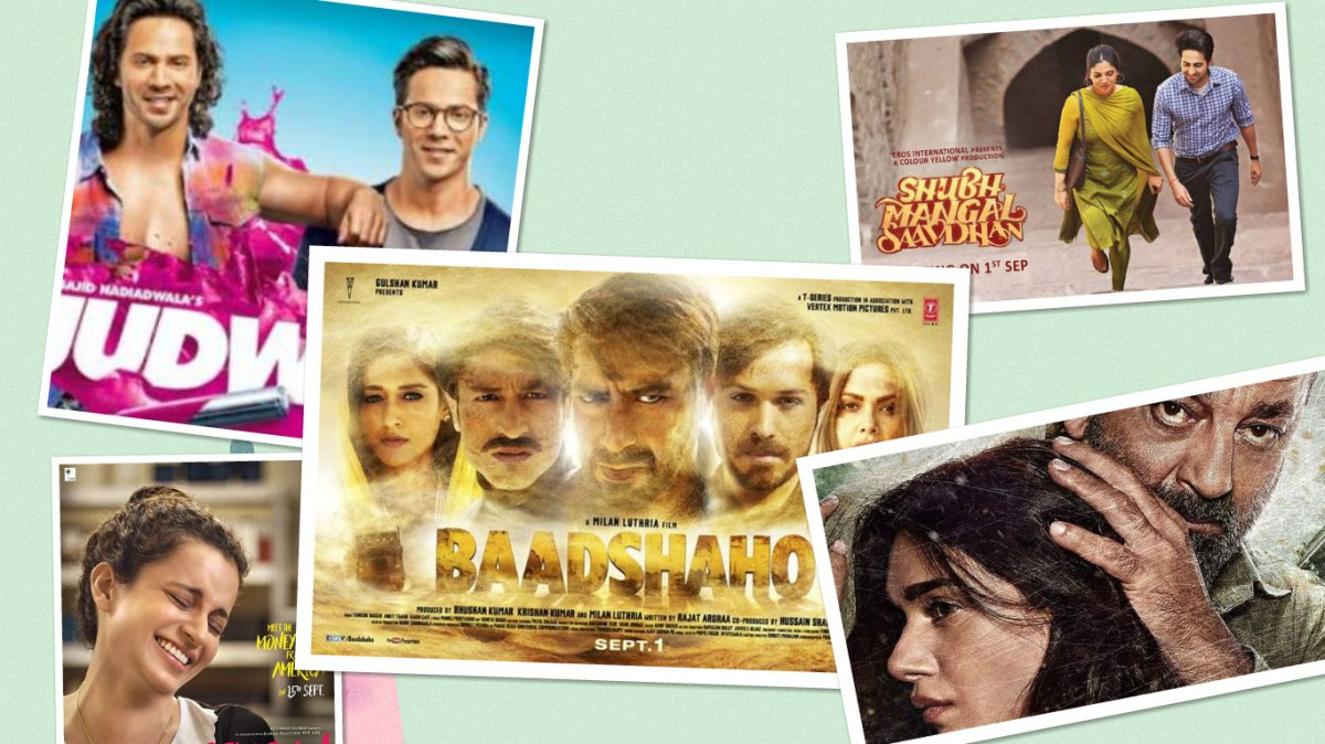 Upcoming Bollywood movies to watch out for (september 2017)