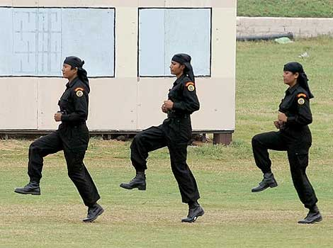 deploy its women commandos for anti-terror operations along with male commandos, female commandos women commandos lady commandos
