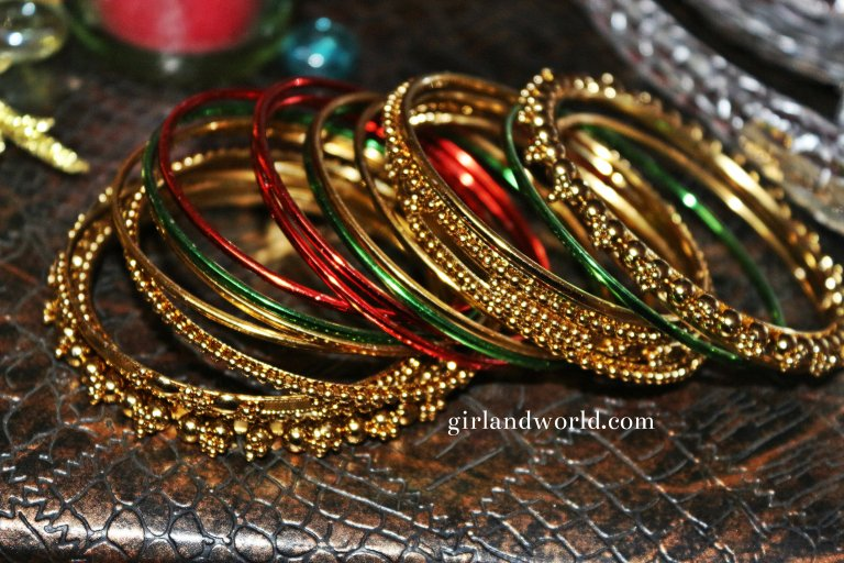 chevron gold yellow stripes bangle pattern k jewellery beads raj bangles angle set jewels