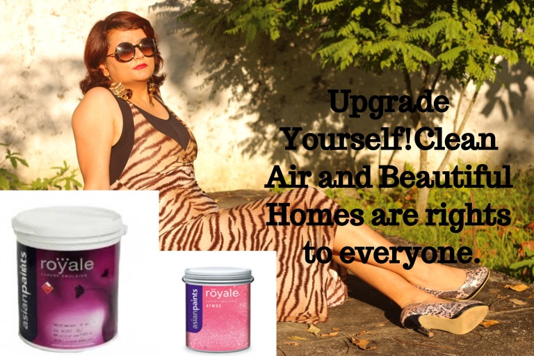 Royale atmos indiblogger best paint paint that absorb safe paint green earth environmental damage indoor pollutant clean air beautiful homes save earth paint healthy festival