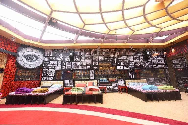 Bigg Boss 11 Salman Khan host Bigg Boss House location interiors pictures images Address feature contestants pictures images of Bigg Boss 11 house