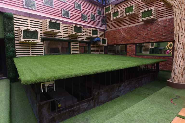 Bigg Boss 11 Salman Khan host Bigg Boss House location Address feature contestants pictures images of Bigg Boss 11 house interiors of Bigg Boss house hd wallpaper