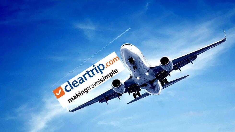 Cleartrip mumbai to delhi flights bokking airfare cheapest airfare best airfare