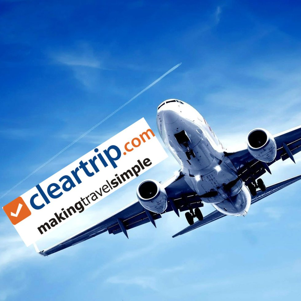 Cleartrip mumbai to delhi flights bokking airfare cheapest airfare best airfare