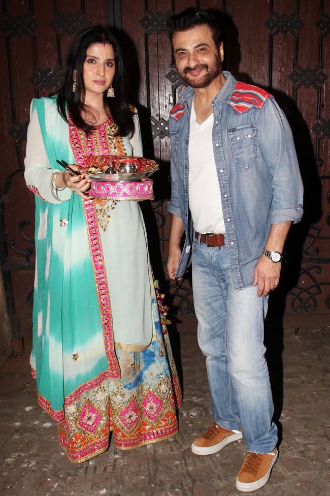 Karva Chauth Celebrations Bollywood Actress Karva Chauth fast Heroines keeping Karva Chauth Fashion Dress bridal attire