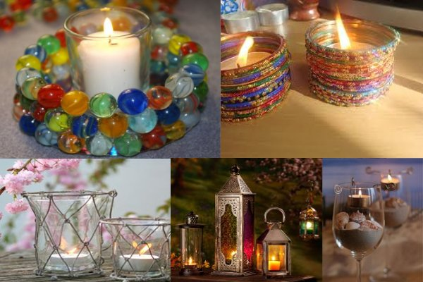 DIY Diwali lighting ideas, diya, kandil, paper lantern, decoration ideas for Diwali, lights, crackers