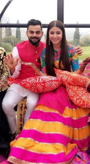 Virat Anushka marriage wedding resort dress cricket love story pictures