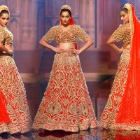 5 Bridal Lehenga Inspirations for 2018 from the house of Indian Designers