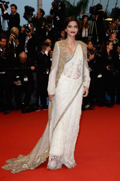 Sonam Kapoor iconic looks best looks fashion style gown dress gucci desginer rhea kapoor canees look red carpet look sonam bollywood heroine diva fashionista
