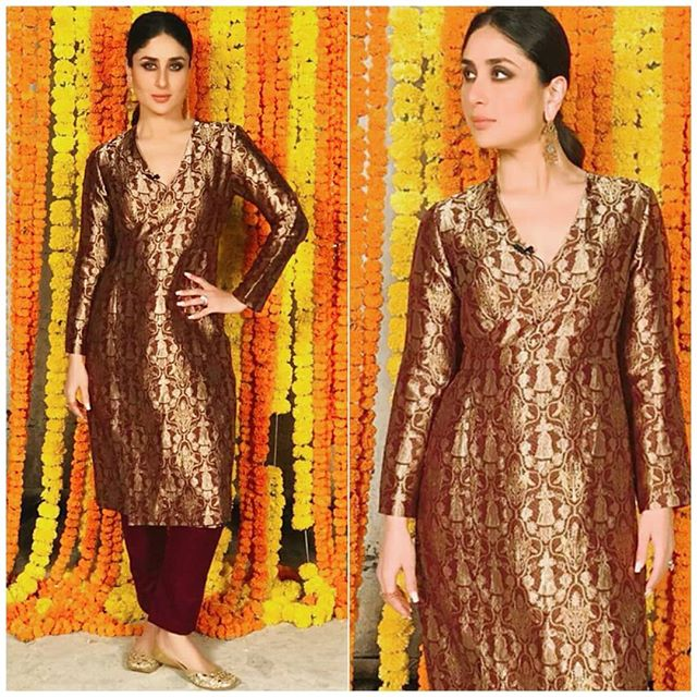 veere di wedding, kareena kapoor khan, dress hair makeup sonam kapoor fashion bollywood style
