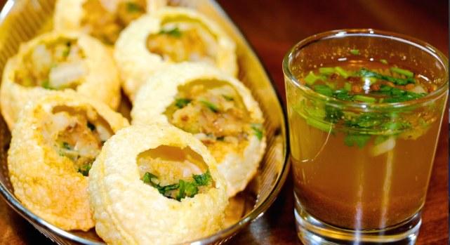 golgappe phucha pani puri street food, chowmein recipe famous food India local desi most common food favorite food Indian cuisines culinary cutlery housefull khana dhamaka