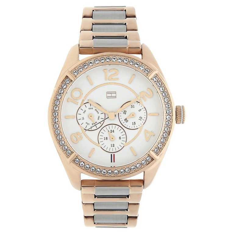 Tommy Hilfiger watches for women price India below 5000 with silicone strap rose gold white studded red belt black helios near me online shopping discount sale are they good review must have analog watches stylish watches best watches for women ladies watches