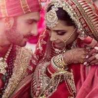 First pictures of Deepika Padukone and Ranveer Singh Wedding
