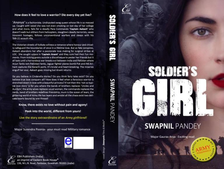soldier para commando best military romance indian army love story soldier's girl swapnil pandey army wife army girlfriend indian army officer how to marry best book of 2018 india chick lit book romance fiction