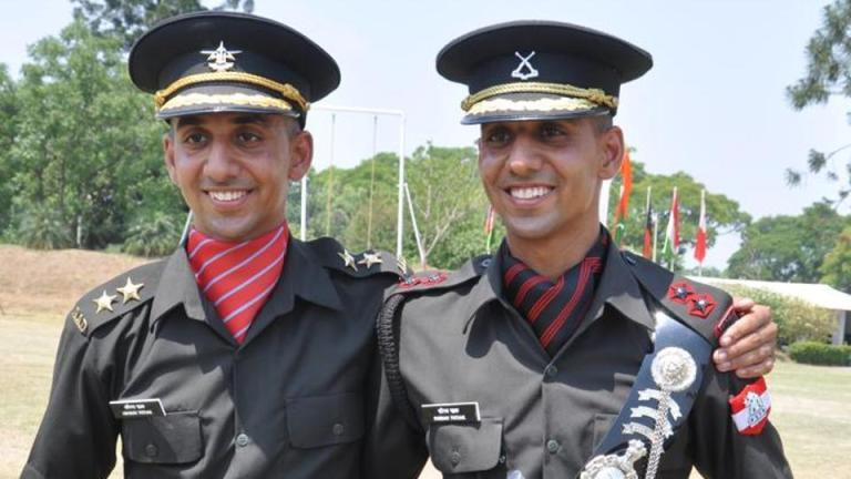 twin brother in academy Indian Army Army officer army life military academy POP IMA NDA OTA