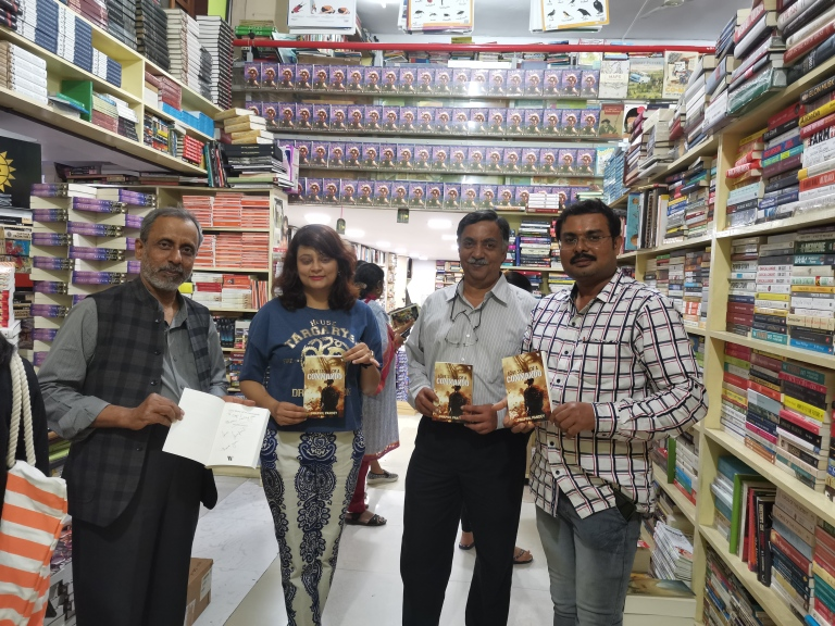 book event book signing event westland books swapnil pandey love story of a commando soldier's girl blossom book house,bookworm bookstore sapna bengaluru higginbotham best bookstore must visit top 5 top 10 iconic legendary bangalore books on discount paperback book lover reader author crossword landmark india indian booksigning library second hand book available used books rare books history books comics magazines travel guide children section non fiction genre church street bookstore MG road book heaven book lovers readers book worm higginbotahm bookhive gangaram iconic bookstalls