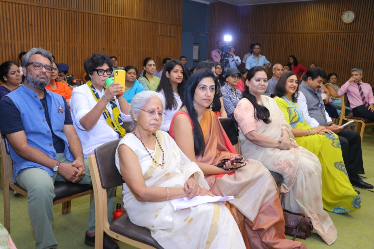 book launch signing event idea westland books amazon publishing marketting book promotions dignitaries celebrity book launch love story of a commando swapnil pandey Manoj tiwari madhulika Rawat bipin rawat AWWA initiative role veer naris martyrs wives army officer indian army wife girlfriend book best seller of 2019 army officer military relationship star studded book launch party